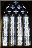 SO3958 : Window inside St. Mary's Church (Chancel   Pembridge) by Fabian Musto