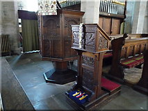 SO3958 : St. Mary's Church (Pulpit | Pembridge) by Fabian Musto