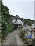 SX6643 : Bantham sailing club building by David Smith