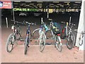 SK4933 : Bike rack at Long Eaton Tesco by David Lally