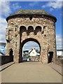 SO5012 : Gate Tower, Monnow Bridge, Monmouth by Rob Farrow