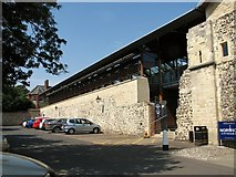 TG2308 : The Refectory at the Norwich Cathedral by Evelyn Simak