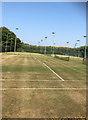TQ4109 : Tennis Courts. Southdown Sports Clun by Paul Gillett