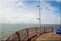 SD3036 : End of Blackpool North Pier by Oliver Mills