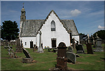 NS4643 : Fenwick Parish Church and graveyard by Richard Sutcliffe