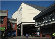 TG2309 : The entrance to the Anglia Square shopping centre by Evelyn Simak