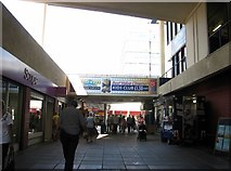 TG2309 : Anglia Square shopping centre - Sovereign Way by Evelyn Simak