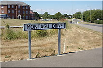 TM3763 : Montagu Drive sign by Adrian Cable