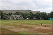 SD6592 : Playing field at Sedbergh School by Alan Reid