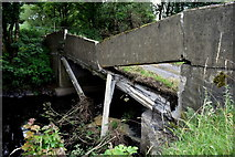 H5371 : Collapsed bridge along Dreenan Road by Kenneth  Allen