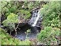 NC3713 : Waterfall on Abhainn Gleann na Muic by John Ferguson