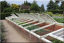 TQ1352 : Frame yard, gardens at Polesden Lacey by M J Roscoe