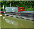 SP6065 : Working narrowboat near Norton Junction in Northamptonshire by Roger  Kidd