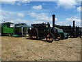 SK1719 : Traction engines at Barton under Needwood Steam Rally, 2018 by Christine Johnstone