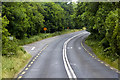 W4353 : Road Junction on the N71 west of Garteen Cross Roads by David Dixon