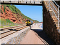 SX9777 : Sprinter Commuter Train near Dawlish by David Dixon