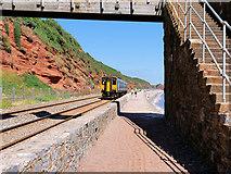 SX9777 : Sprinter Commuter Train near Dawlish by David Dixon