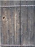 SO3958 : Civil War damage on Pembridge church by Philip Halling