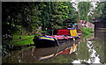 SP5968 : Working narrowboat near Watford in Northamptonshire by Roger  Kidd