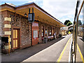 SX8956 : Dartmouth Steam Railway, Station Building at Churston by David Dixon