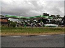 SO8011 : Petrol station on Bath Road, Hardwicke by David Howard
