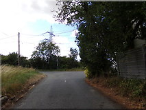 TL8526 : America Road, Earls Colne by Adrian Cable