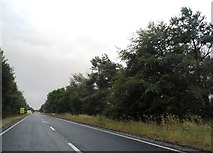 SP1115 : The A40, Northleach by David Howard