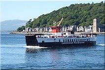 NM8529 : CalMac MV Loch Striven, Oban Harbour by Rob Farrow