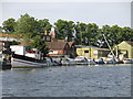 TQ1369 : The River Thames by Platt's Eyot (2) by Mike Quinn