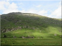 NG9918 : Southern slopes of Beinn Fhada by Richard Webb