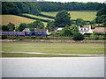 SX9779 : GWR Train on the South Devon Mainline near Dawlish Warren by David Dixon