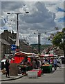 SK0573 : Buxton marketplace looking to Solomon's Temple by Neil Theasby