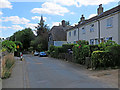 TL4038 : Barley: Church End by John Sutton