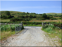 NS0669 : Farm track at Ardmaleish Point by Thomas Nugent