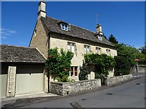 SP1106 : House opposite Bibury church by Philip Halling