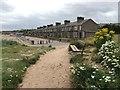 NU0051 : St Helen's Terrace by the Promenade in Spittal by Jennifer Petrie