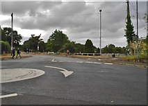 SO8405 : The entrance to Stratford Park, Stroud by David Howard
