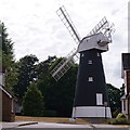 TQ3565 : Shirley Windmill by Peter Trimming