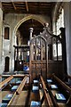 TL9149 : Lavenham, St Peter and St. Paul's Church: The Spourne Chantry in the south aisle 1 : Week 31