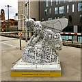 SJ8497 : Manchester Doodle Bee by Gerald England