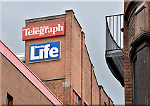 J3374 : The Belfast Telegraph buildings, Belfast (August 2018) by Albert Bridge