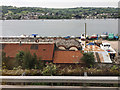 SX9272 : Boatyard on the former Gas Works site, Teignmouth by Robin Stott