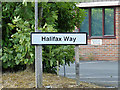 TL8426 : Halifax Way sign by Adrian Cable