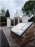 SD5519 : Euxton War Memorial and Roll of Honour by David Dixon