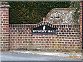TL8527 : Hungry Hall sign by Adrian Cable