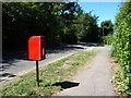 TQ5837 : EIIR postbox, St Mark's Road by Christine Johnstone