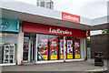 NS5268 : Ladbrokes Bookmakers at Knightswood Shopping Centre in Glasgow by Garry Cornes