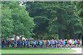 ST2885 : Park run, Newport (1) by Robin Drayton