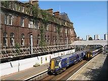 NS3421 : Trains at Ayr by Jonathan Wilkins