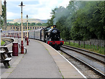 SD8022 : Witherslack Hall arriving at Rawtenstall by David Dixon